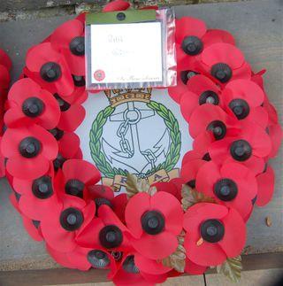 TrafalgarDay2008-Wreath