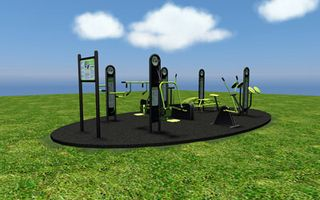 Outdoor Gym Example