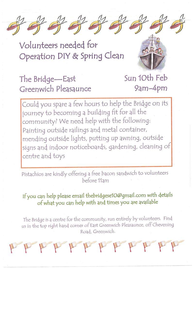 Bridge Volunteer Flyer - 23Jan2013